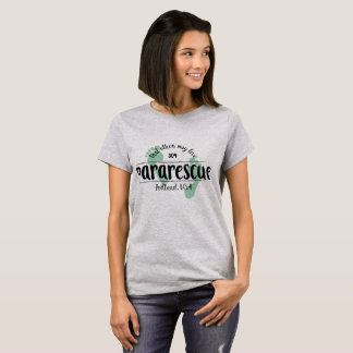 Camiseta T do Pararescue do Portland das mulheres