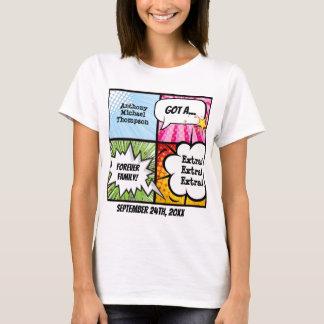Camiseta T do partido da adopção do estilo da banda