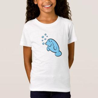 Camiseta T do peixe-boi