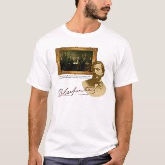 Camiseta T do pintor de Francis B. Carpinteiro Abe Lincoln