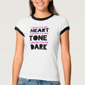 Camiseta T do poema lírico da IRL da senhora
