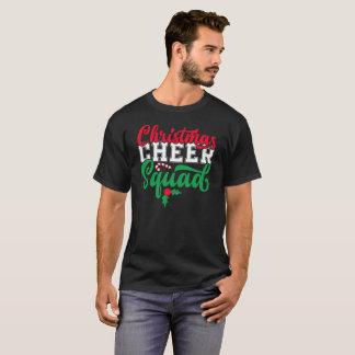 Camiseta T do presente do elogio Squad-01 do Natal