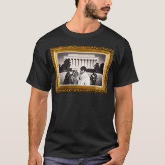 Camiseta T do preto do funk do problema