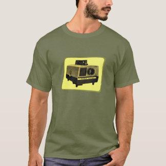 Camiseta T do projetor de corrediça
