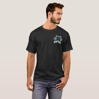 Camiseta T do protetor do Tartan da caça de Kerr do clã