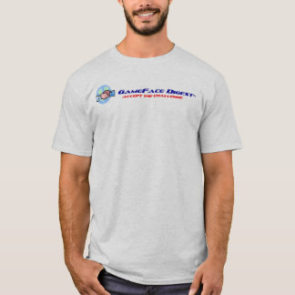 Camiseta T do resumo do GameFace dos homens