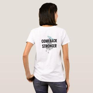 Camiseta T do retorno