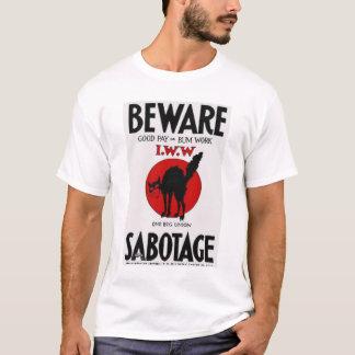 Camiseta T do sabocat