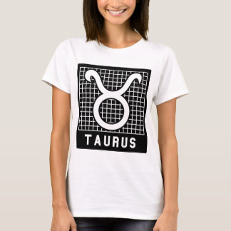 Camiseta T do sinal do zodíaco do Taurus