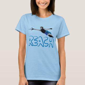 Camiseta T do slalom de Waterski