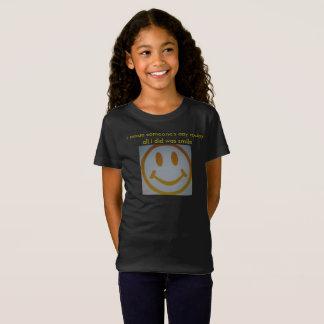 Camiseta T do smiley