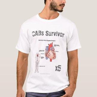 Camiseta T do sobrevivente da cirurgia de desvio coronário