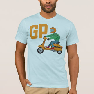 Camiseta T do Sr. Lambrettista GP