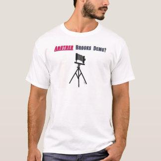 Camiseta T do stylin do programa demonstrativo dos livros
