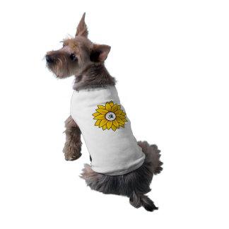Camiseta T do tanque do animal de estimação do design do