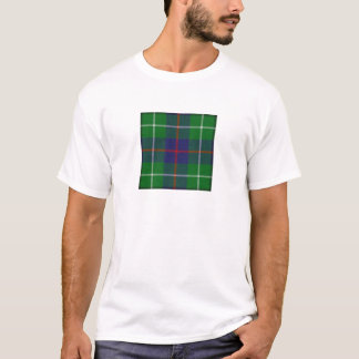 Camiseta T do Tartan de Duncan