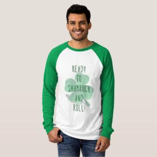 Camiseta T do TREVO E do ROLO