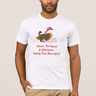 Camiseta T do trote de peru