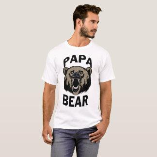 Camiseta T do urso da papá