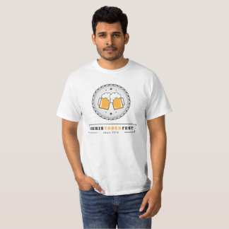 Camiseta T do valor