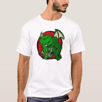 Camiseta T do valor de Cthulu
