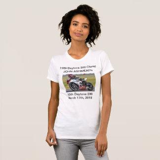 Camiseta T do Vee das mulheres de John Ashmead