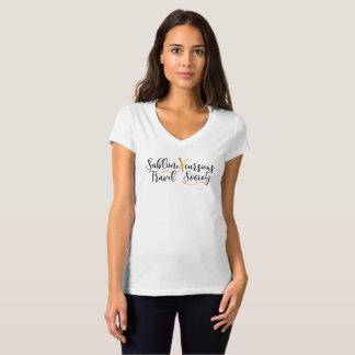 Camiseta T do Vee dos sublimeXcursions