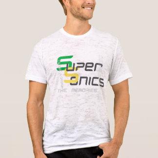 Camiseta T do vintage de SuperSonics