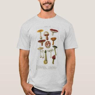 Camiseta T do vintage dos fungos de Poisonus
