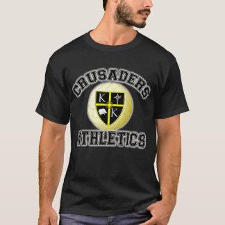 Camiseta T do voleibol dos cruzados