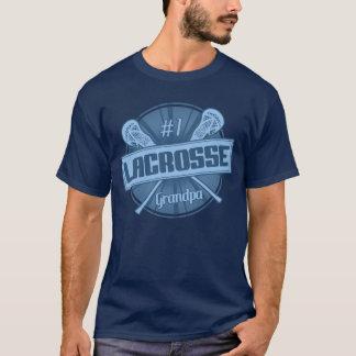 Camiseta T do vovô do Lacrosse do número 1