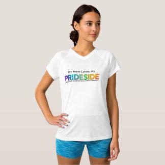 Camiseta T Dobro-Seco do V-Pescoço do campeão de PRIDESIDE®