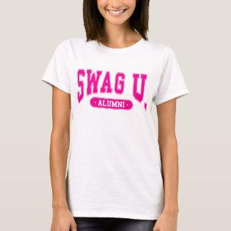 Camiseta T dos alunos da universidade dos GANHOS com