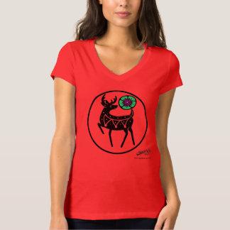 Camiseta T dos cervos e do Peyote
