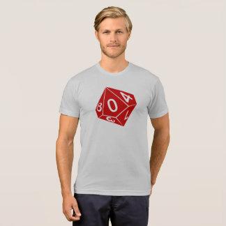 Camiseta T dos dados de Rainwall d10