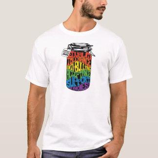 Camiseta T dos direitos dos homossexuais