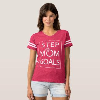 Camiseta T dos objetivos da mamã da etapa