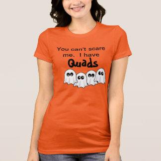 """Camiseta T dos quadriláteros do Dia das Bruxas """"eu tenho"""""""