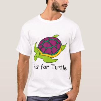 Camiseta T é para a tartaruga