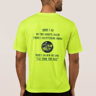 Camiseta T em ferradura de Tek do esporte do lançamento…