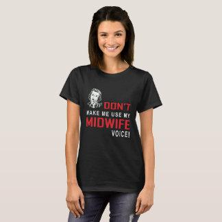 Camiseta T engraçado das parteiras do Tshirt da parteira