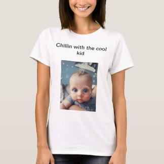 Camiseta T engraçado do bebê