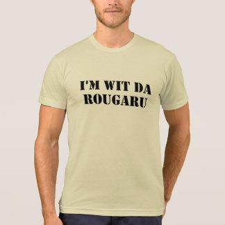 Camiseta T engraçado do monstro do pântano da Dinamarca