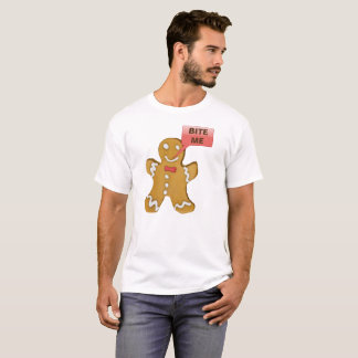 Camiseta T engraçado do Natal de Gingerman