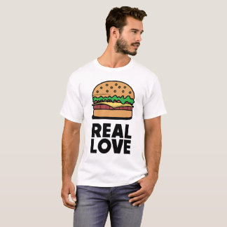 "Camiseta ""T engraçado dos amantes do fast food do"