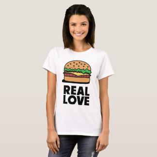 """Camiseta """"T engraçado dos amantes do fast food do"""