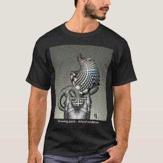 Camiseta T escuro do ponto de crescimento por Anjo Lafin
