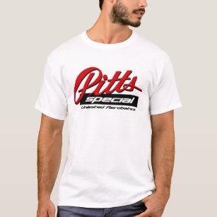 Camiseta T especial do logotipo de Pitts