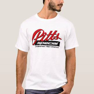 Camiseta T especial do logotipo de Pitts