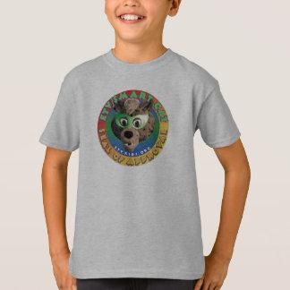 Camiseta T esperto do selo de aprovação do gato de ETV
